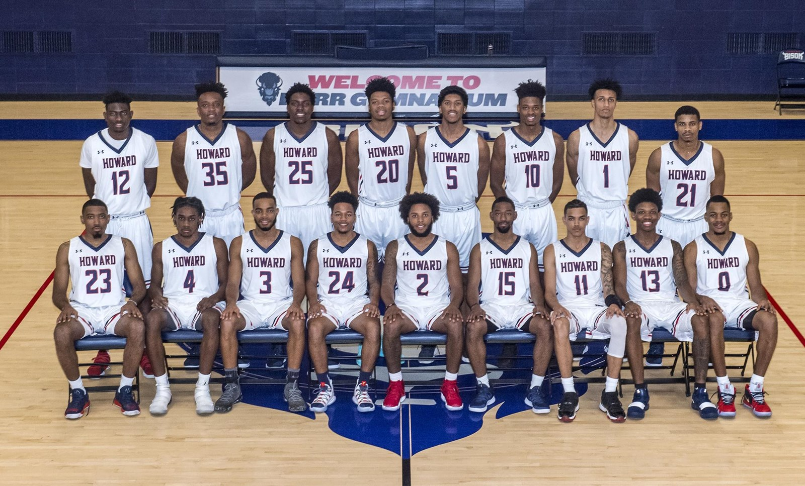 best service 1fa95 cbb87 2018-19 Men's Basketball Roster - Howard University Athletics