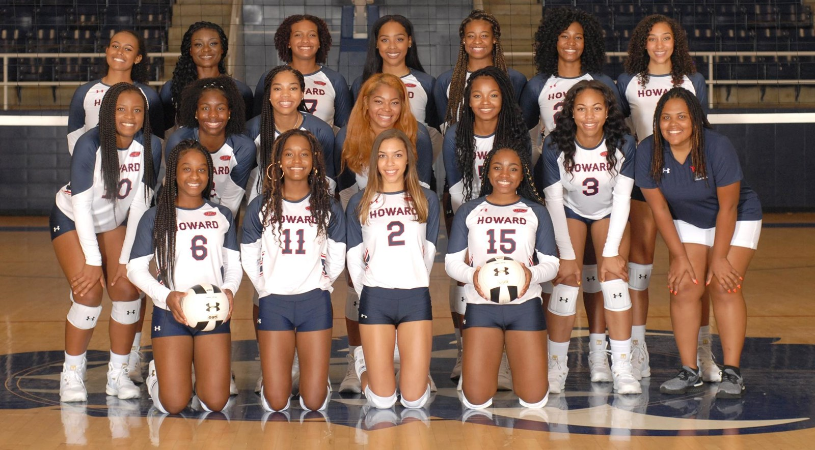 2018 Women S Volleyball Roster Howard University Athletics