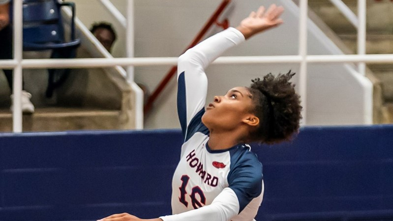 Howard Volleyball Suffers Setback Versus Ole Miss