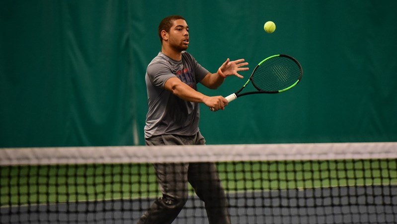 Men's Tennis Back in Action at George Mason - Howard University Athletics