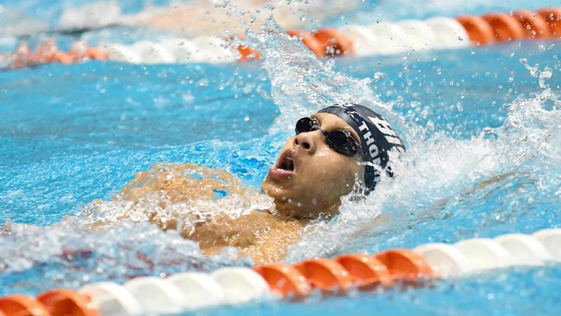 Thompson, Men's Swimming & Diving Shatter More Records at the CCSA Championships - Howard University Athletics