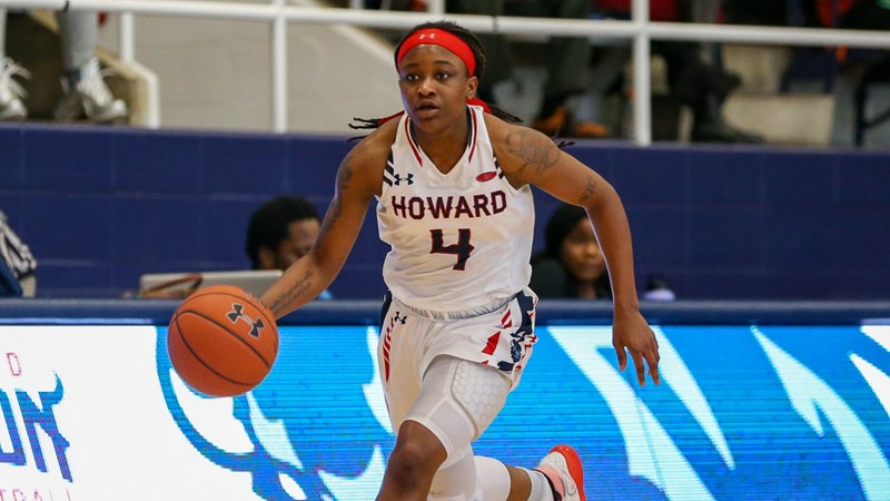 Eagles Defeat Women's Hoops with Hot Shooting - Howard University Athletics