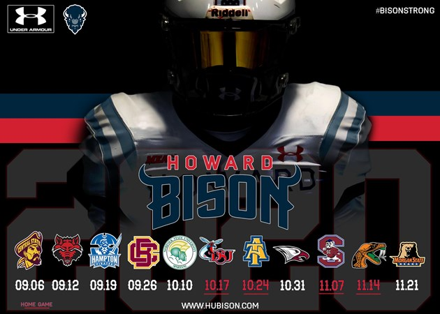 Howard University Announces 2020 Football Schedule - Howard University Athletics